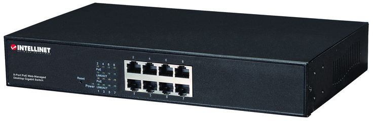 8 Port Gigabit Switch All Poe Managed Provides Power And Data Connection For Up To Eight Poe Network Devices Save Time And Money By Delivering Data And Power Via Existing Network Cables 10/100/1000 Autosensing Ports Automatically Detect Optimal Network Speeds Ieee 802.3at/afcompliant Rj45 Poe/poe+ Output Ports Power Output Up To 30 Watts Per Port Total Power Budget Of 130 Watts Supports Ieee 802.3at And Ieee 802.3afcompliant Poe Devices (wireless Access Points Voip Phones Ip Cameras)…