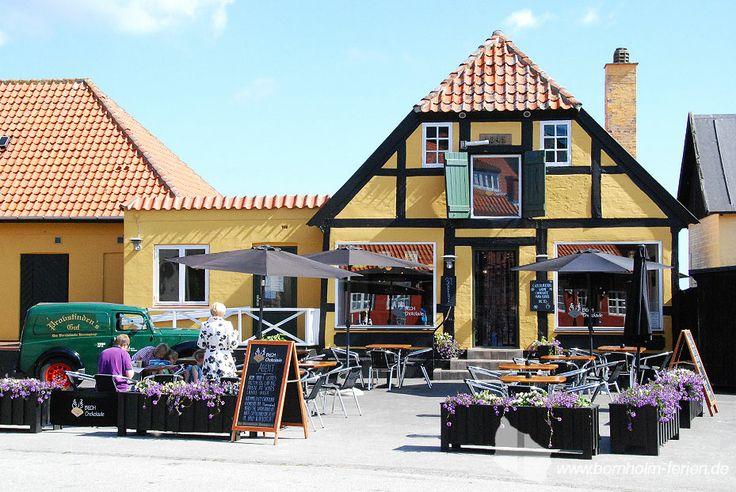 Bech Chocolate - Cafe und Süßigkeitenladen in Gudhjem, Bornholm #bechchokolate #gudhjem #cafe #bornholm