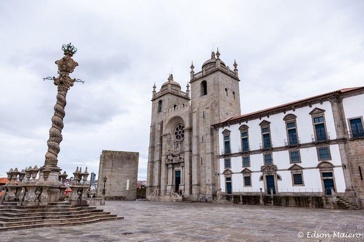 Terreiro da Sé e fachada da catedral
