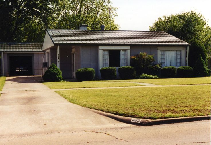 CHRISTIAN K USHER  LUSTON HOUSE in Payne County, Oklahoma.