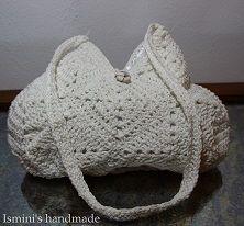 hanmade crocket handbag €44
