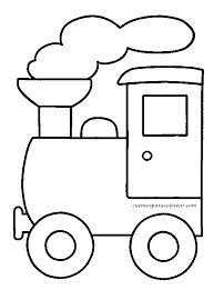 Resultado de imagen de dibujos para colorear de trenes