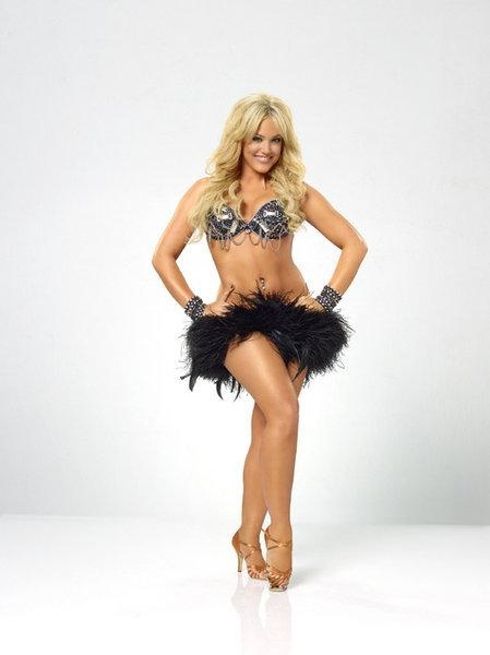 Lacey Schwimmer  -  Dancing With the Stars pro  -  seasons...7 with Lance Bass...8 with Steve O...9 with mark Dacoscos...11 with Disney's Kyle Massey...12 with Mike Catherwood...13 with Chaz Bono