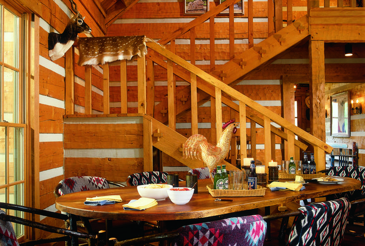 17 best images about log home interiors on pinterest for Chinking log cabin