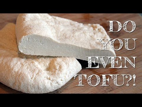 How To Make Tofu (with just soymilk, lemon and water!) | DIY - YouTube