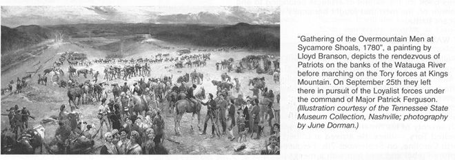 Revolutionary War - Battle of Kings Mountain