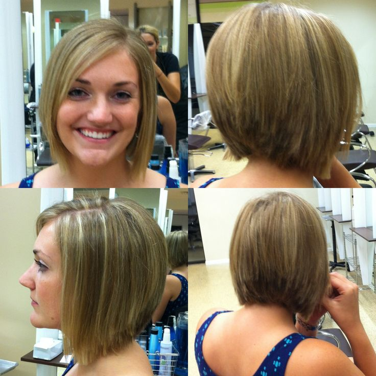 hair cutting style for images chelsea inspired graduated bob from hair to 4539