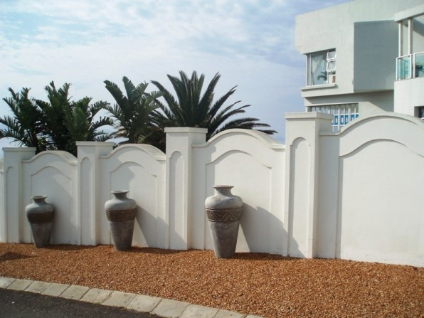 Simple Boundary Wall Design : Best boundary wall images on arquitetura