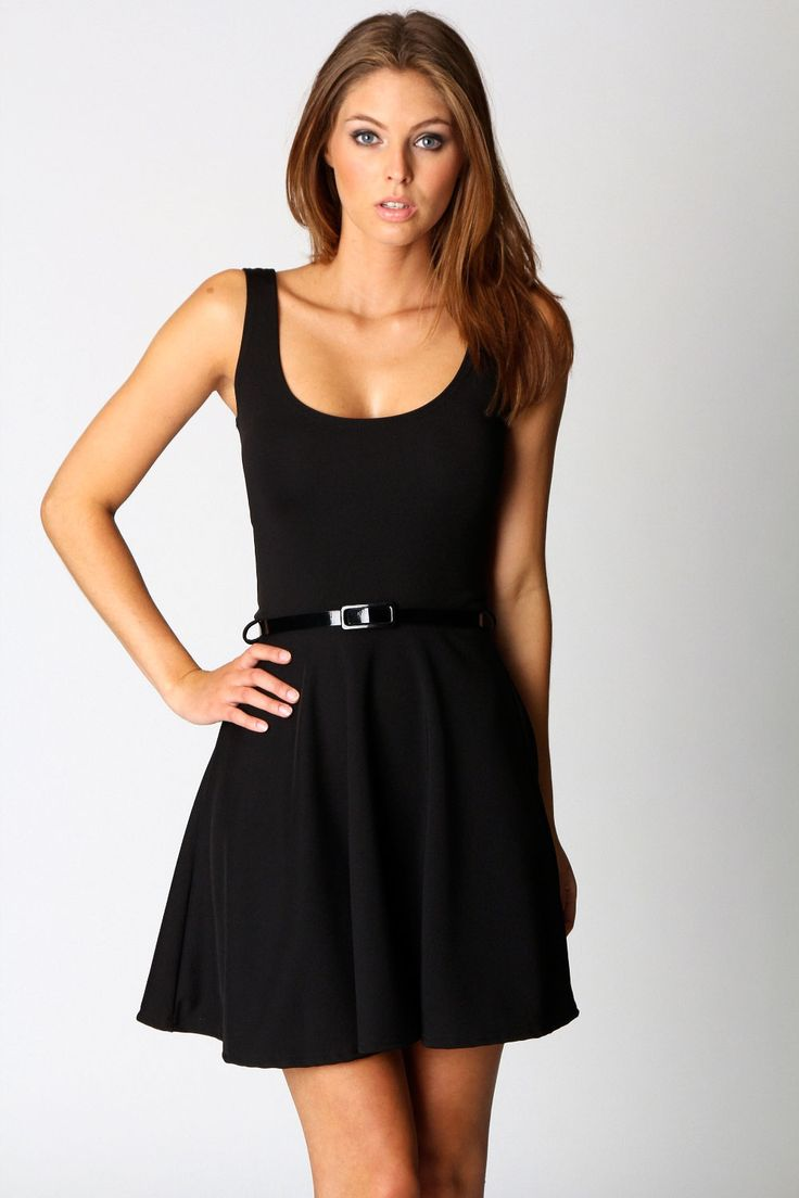 Maya Scoop Neck Skater Dress $24