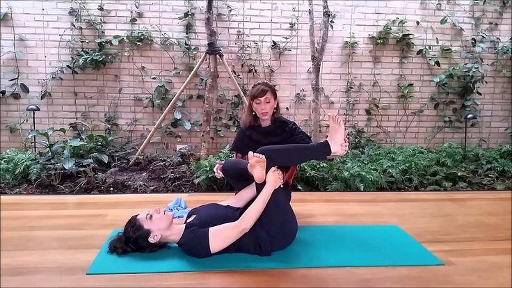 Pilates para iniciantes - Aliviando dores lombares