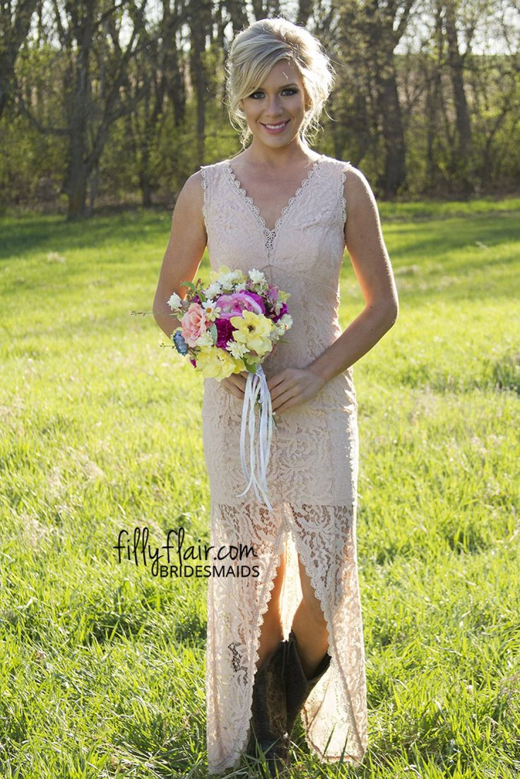 The 25+ best Western bridesmaid dresses ideas on Pinterest | Tan ...
