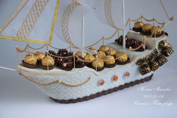 Gallery.ru / Фото #30 - Корабли из конфет в СПб - MamaYulia