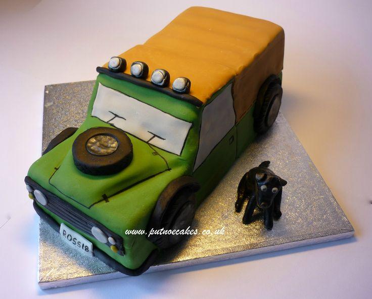 Landrover Cake Tin