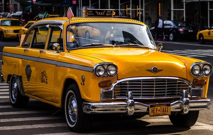 Pin by Alan Joseph on New York Checker cab, Checker taxi