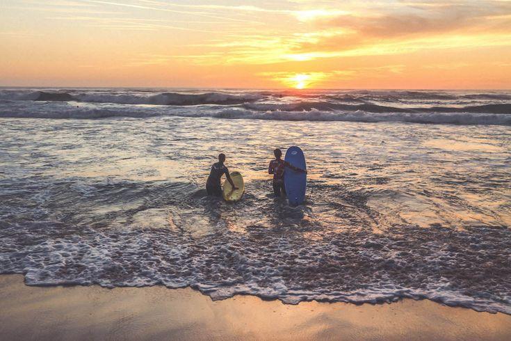 Seignosse beach France travel ocean surf