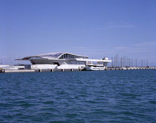 Salerno Maritime Terminal,© Hélène Binet
