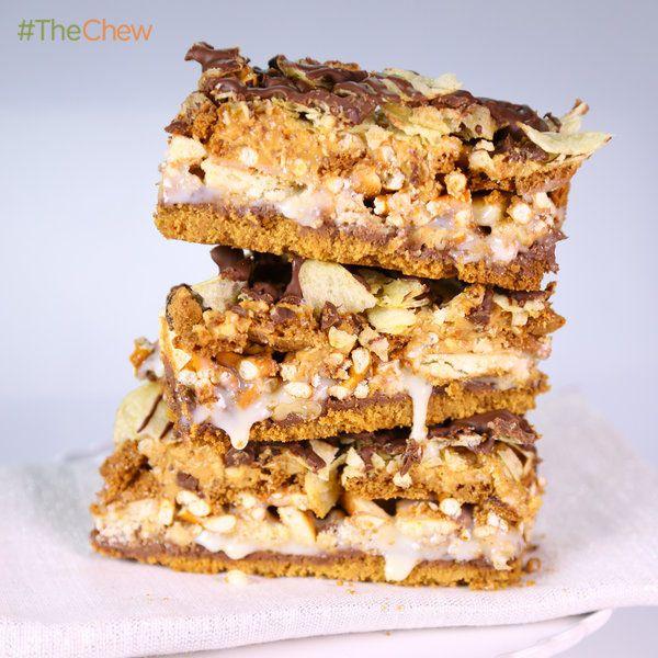Daphne Oz's 10 Layer Bar! #Dessert #TheChew