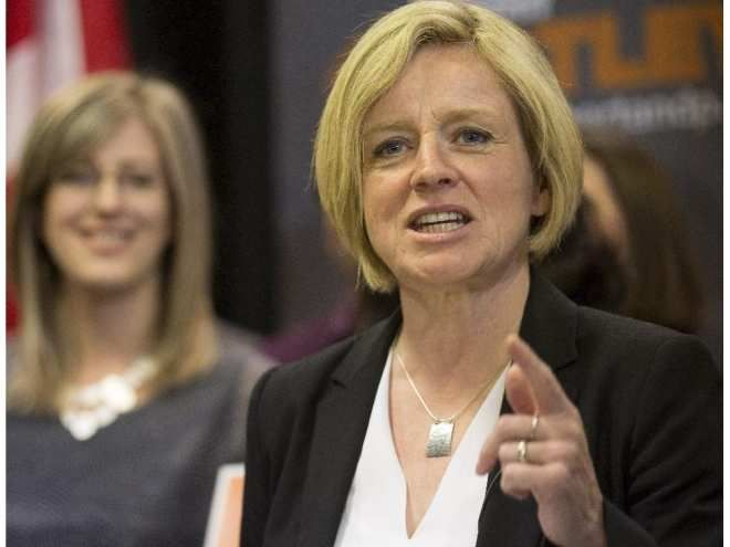 "NDP Leader Rachel Notley on Northern Gateway pipeline: ""I don't think there's any point to it. I think the legal and environmental implications are such that it's not going to go ahead. I think most people know that."""
