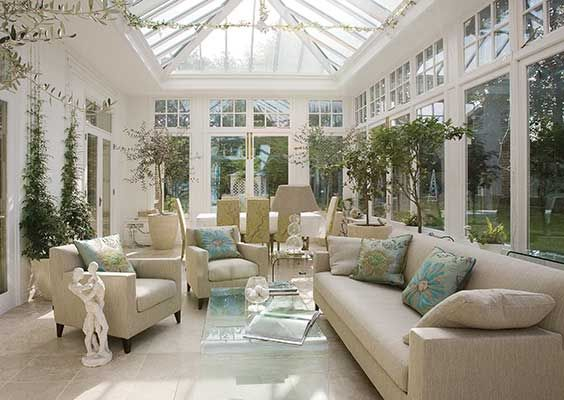 Edwardian Period Conservatory Via Vale Garden Houses UK