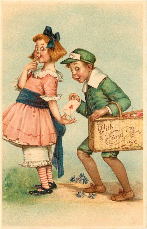 Картинки добрым, смешные винтажные открытки
