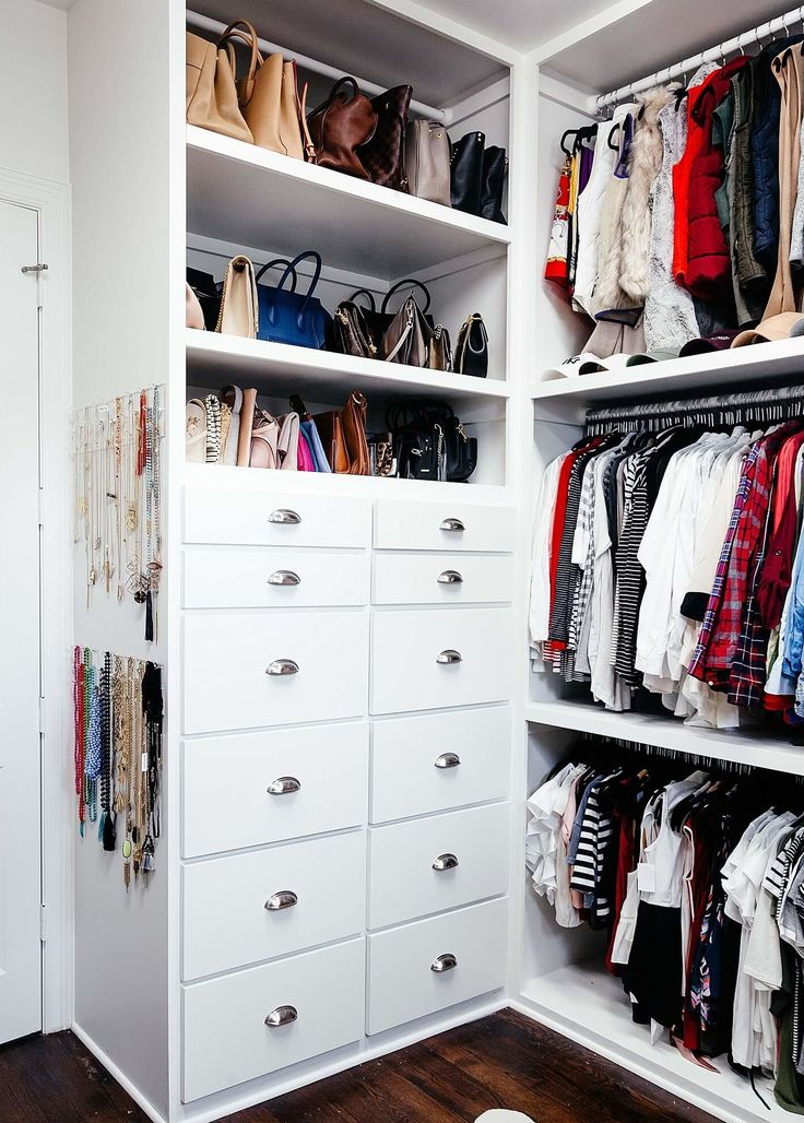brighton keller new home closet reveal, vests, shirts, button-downs, purses and clutches