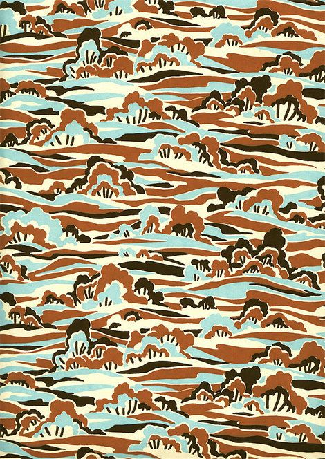 Eley Kishimoto. When I think patterns, I definitely think of them!