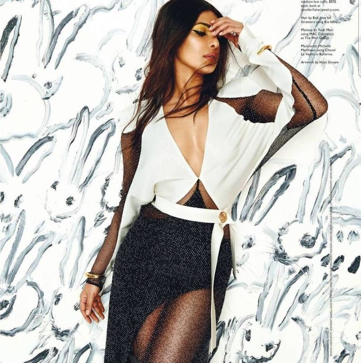 Priyanka Chopra Poses for Miami Magazine