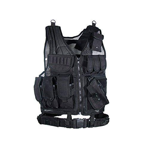 UTG Sportsman Tactical Scenario Vest Black https://besttacticalflashlightreviews.info/utg-sportsman-tactical-scenario-vest-black/