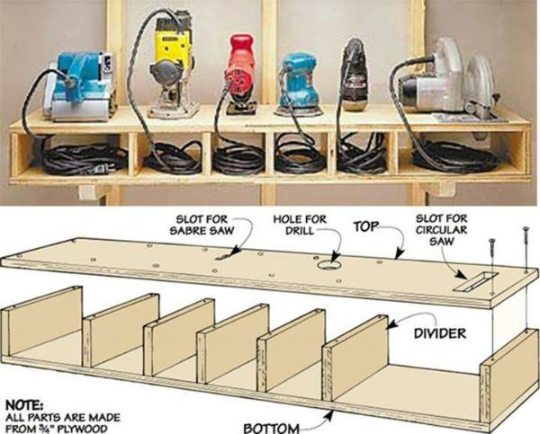 Awesome Tool Shelf ....... More Amazing #Woodworking Projects, Tips & Techniques at ►►► http://www.woodworkerz.com