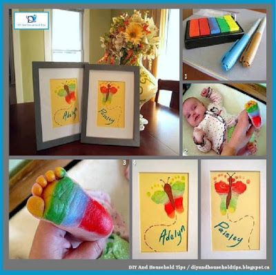 DIY And Household Tips: DIY Butterfly Artwork