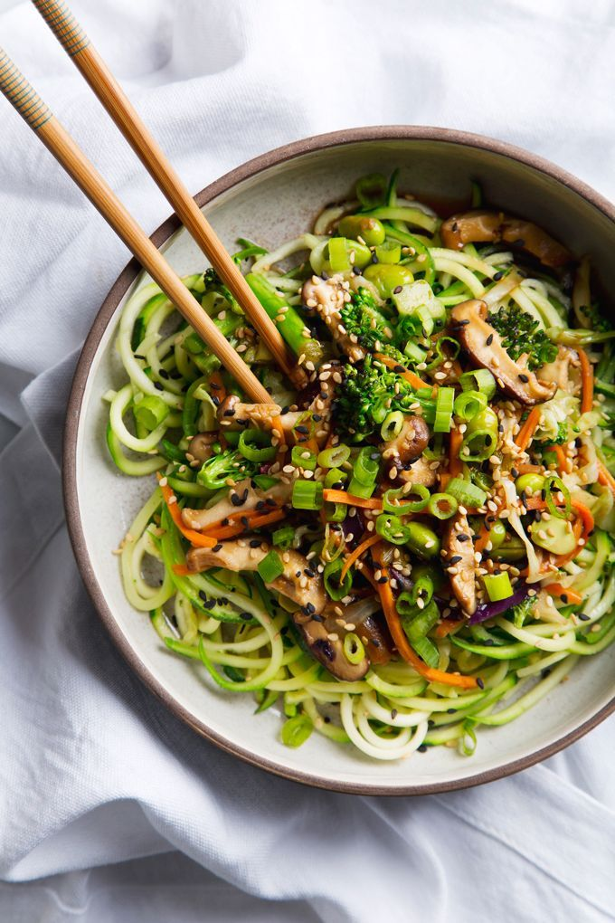 Jade Noodles Recipe Zoodle Recipes Vegan Zoodle Recipes Zucchini Noodle Recipes Vegan