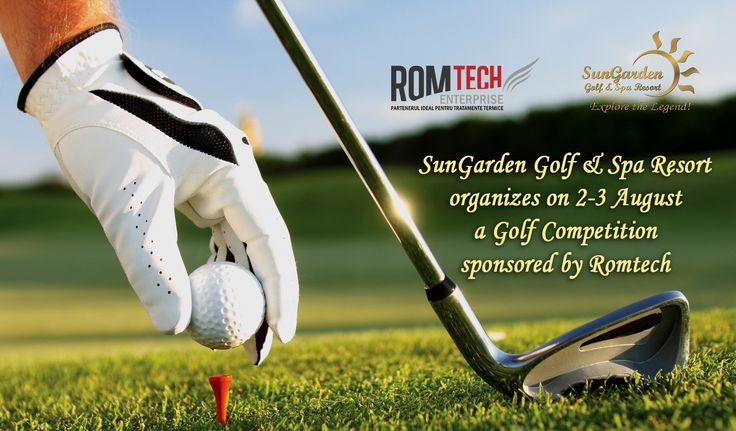 2-3 Aug / Romtech Golf Competition - Sun Garden Resort