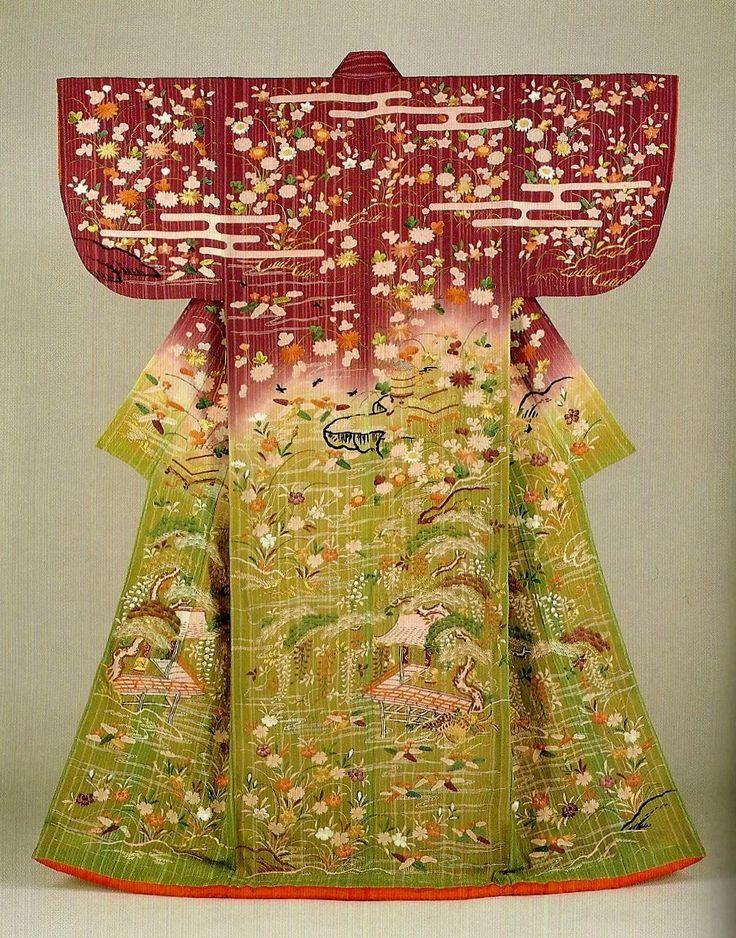 les 101 meilleures images du tableau kimonos sur pinterest geishas kimono japonais et art. Black Bedroom Furniture Sets. Home Design Ideas