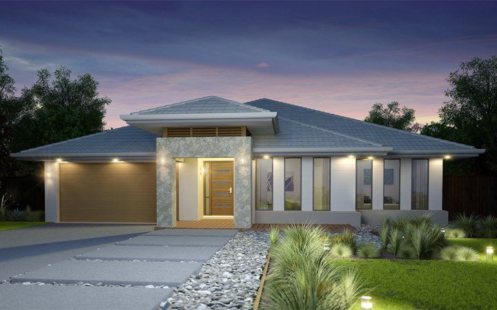 Metricon Home Designs: The Stretton Plantation Facade. Visit www.localbuilders.com.au/builders_queensland.htm to find your ideal home design in Queensland