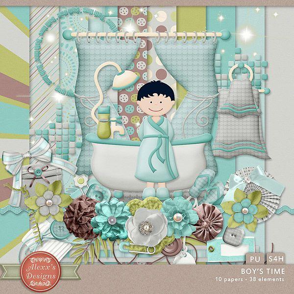 Boy's Time Kit by Alexx's Designs