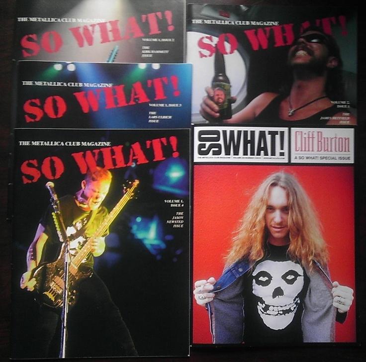 Twenty Years of So What! The Metallica Club Magazine