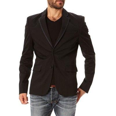 Prezzi e Sconti: #Bonobo jeans giacca di tailleur nero Uomo  ad Euro 80.99 in #Giacche blazers #Abiti e giacche