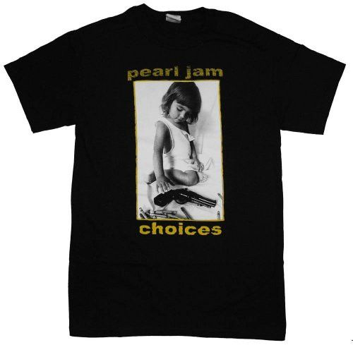 Pearl Jam 'Choices' Men's 2-sided T-shirt