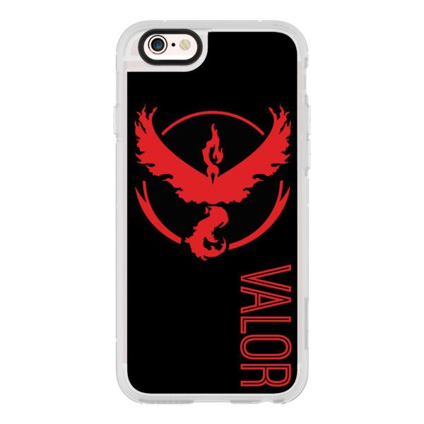 Pokemon Go Team Valor Design - iPhone 6s Case,iPhone 6 Case,iPhone 6s... (60 180 LBP) ❤ liked on Polyvore featuring accessories, tech accessories, iphone case, clear iphone cases, iphone cases, iphone cover case, iphone hard case and apple iphone cases
