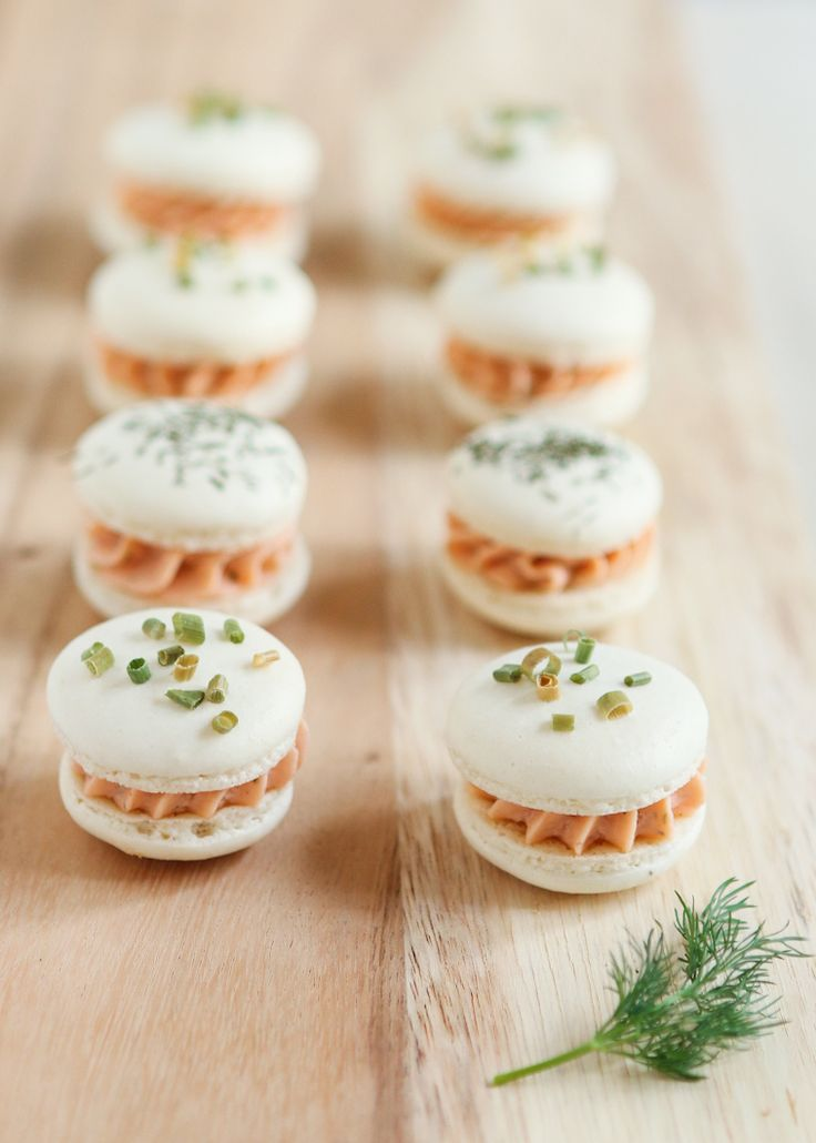 Smoked Salmon Macarons | Thirsty for Tea Oh my, how unique