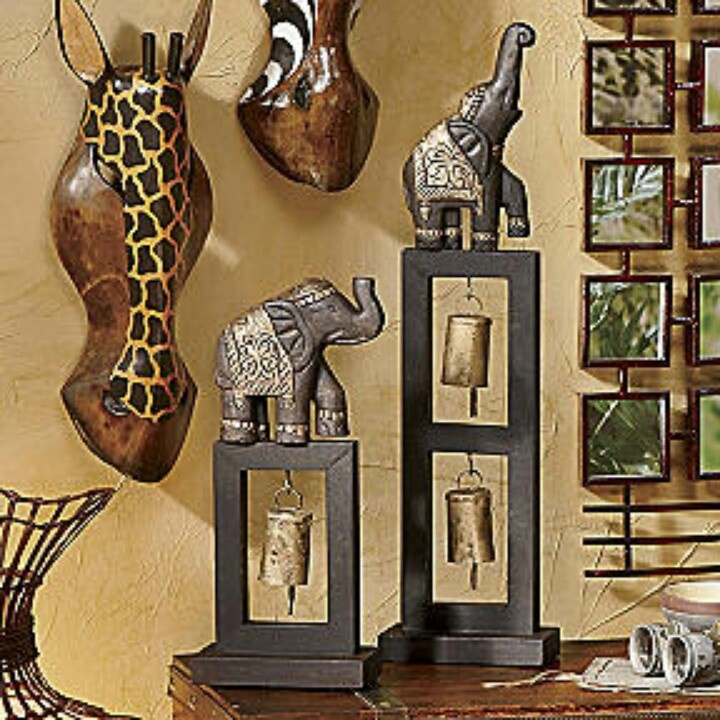 17 best images about african inspired decor on pinterest luxurious bedrooms living rooms and Elephant home decor items