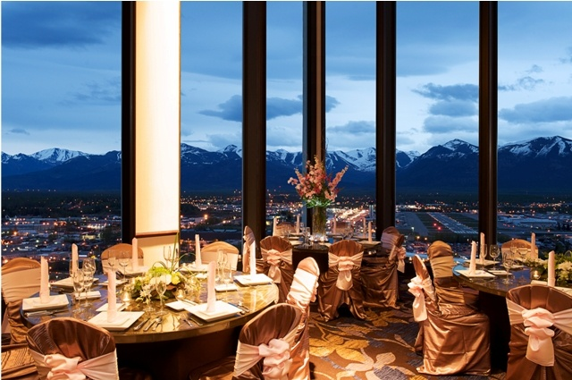 Gorgeous views are complimentary at the Sheraton Anchorage Hotel and Spa!
