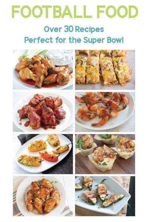 Over 30 Super Bowl Recipes from Inspired Taste #superbowl #football #recipe