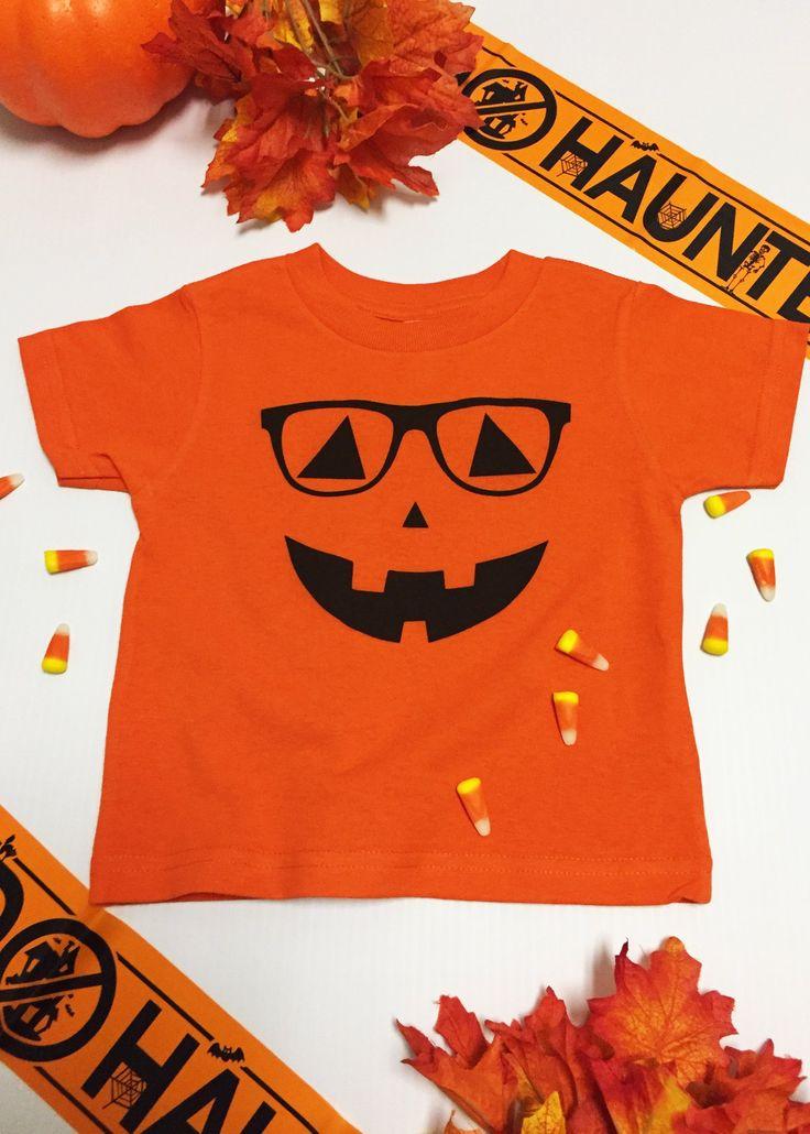 Halloween Shirt. Cute Pumpkin Face. Jack O Lantern. Pumpkin Face Shirt. Funny Halloween Shirt. Pumpkin Top. Trick or Treating Shirt.