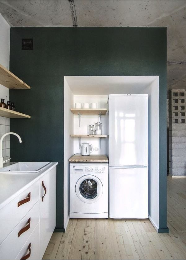 piso de alquiler - washing area