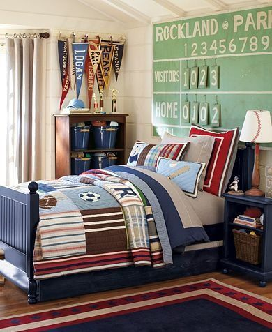 46 best Sports Themed Rooms for Kids images on Pinterest