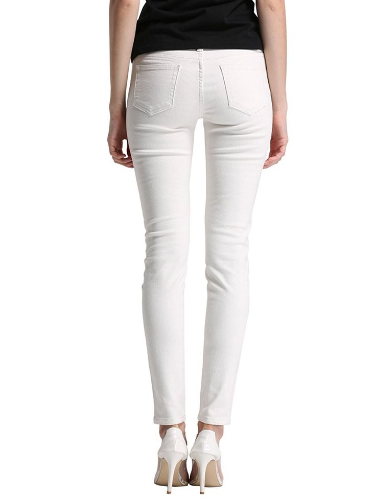Petite women stretch jeans — pic 9