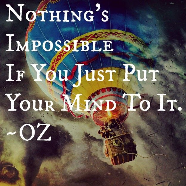 Put your mind to it..