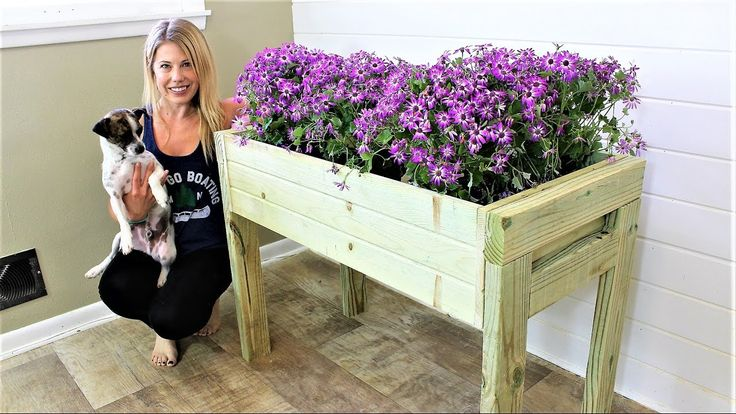 The Elevated Planter Box - DIY Project