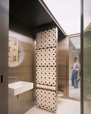 Four Seasons Art Loft modern powder room
